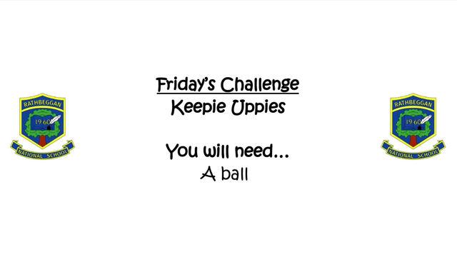 ASW: Friday's Challenge