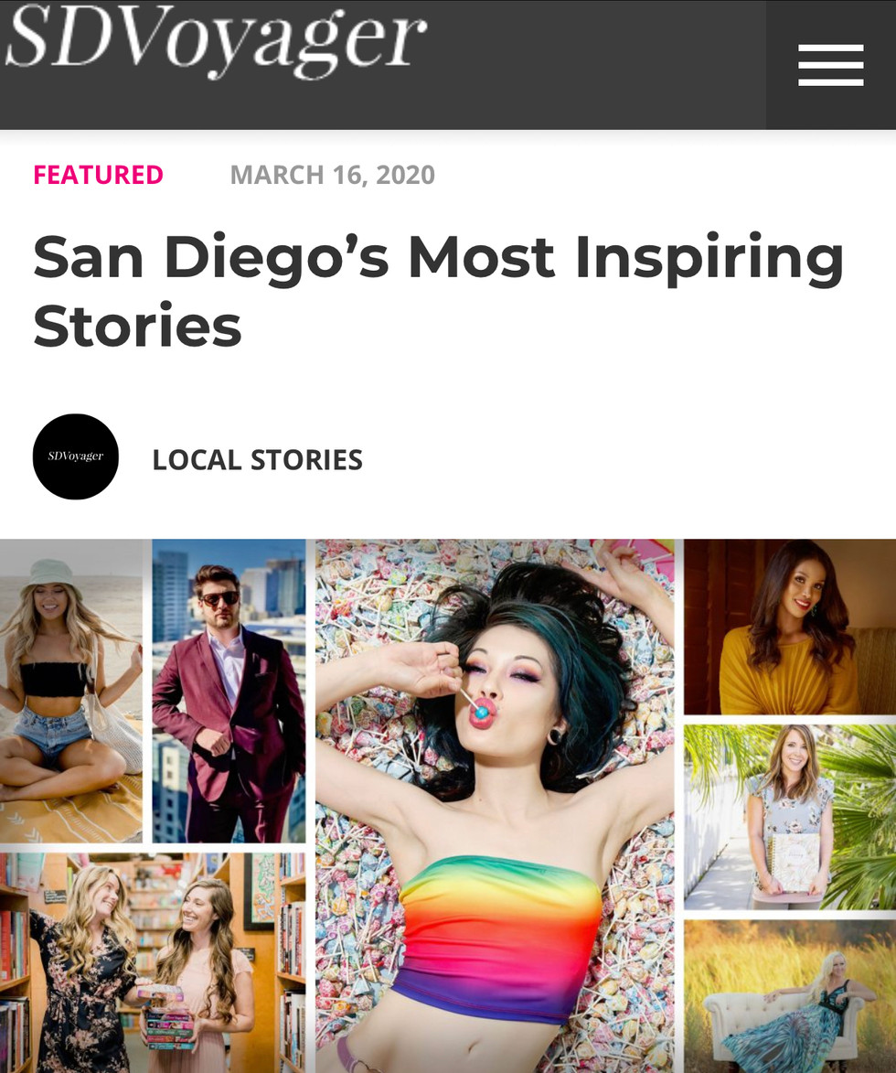 Meet Jesse DiLillo - SD Voyager Magazine San Diego's Most Inspiring Stories