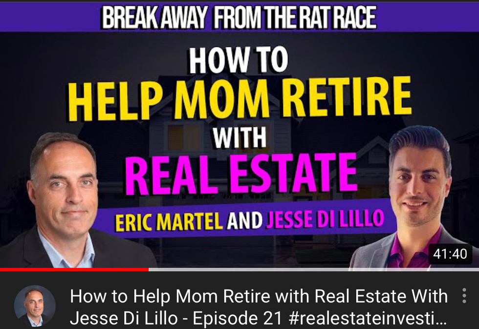 Podcast - Break Away From THe Rat Race - Interview With Jesse Di Lillo