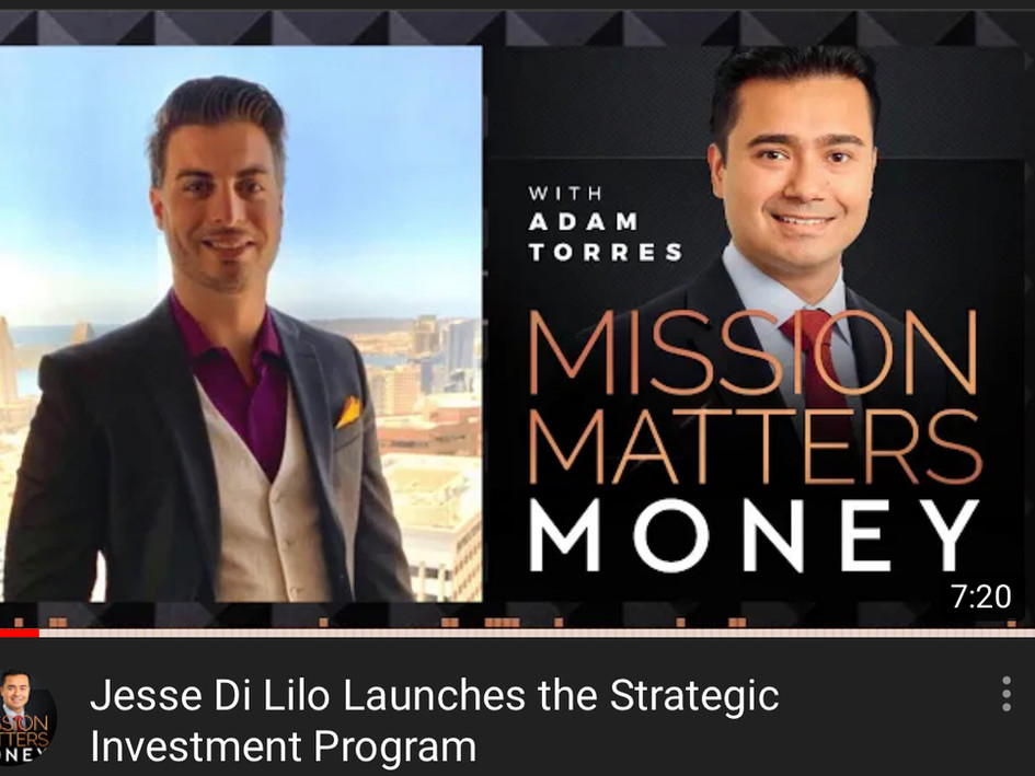Podcast: Mission Matters Money - Interview With Jesse DiLillo