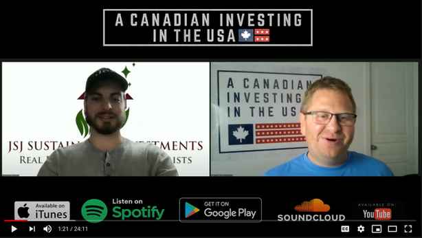 Podcast: A Canadian Investing In The USA - Interview With Jesse Di Lillo
