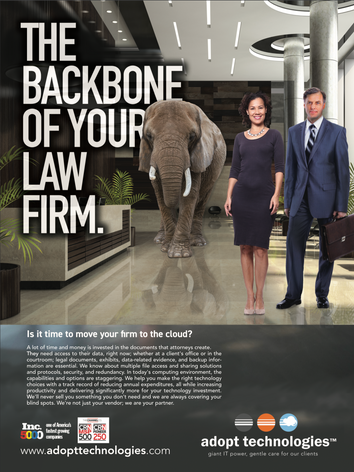 We are the backbone of your firm