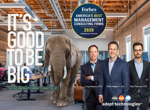 Forbes Best Management Consulting Firms: Adopt Makes the List