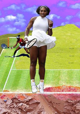 Queen of the Clay, Serena Williams, Rosa Johan Uddoh, Artist