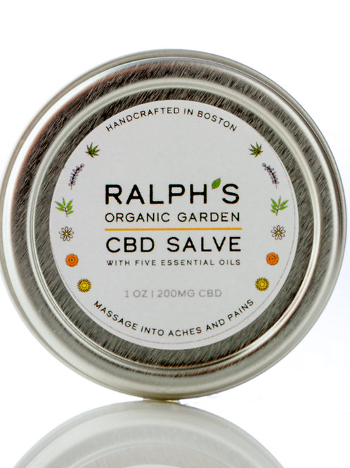 Ralph's CBD Salve - 1oz