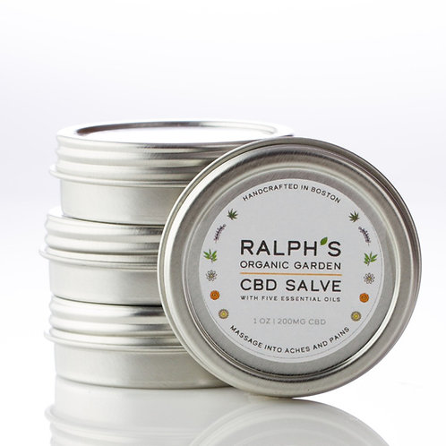 Ralph's CBD Salve - 1oz Bundle of 4