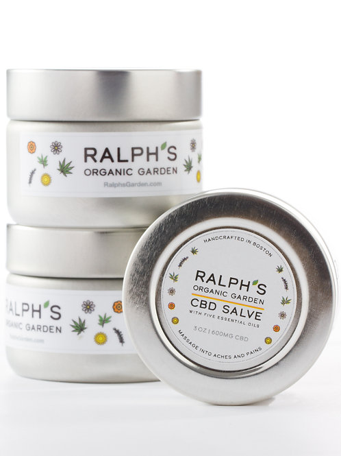 Ralph's CBD Salve - 3oz Bundle of 3