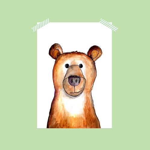 Limited Edition Bear Print