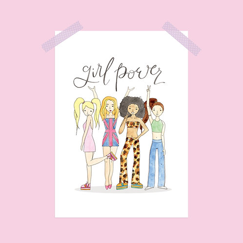 Spice Girls Print
