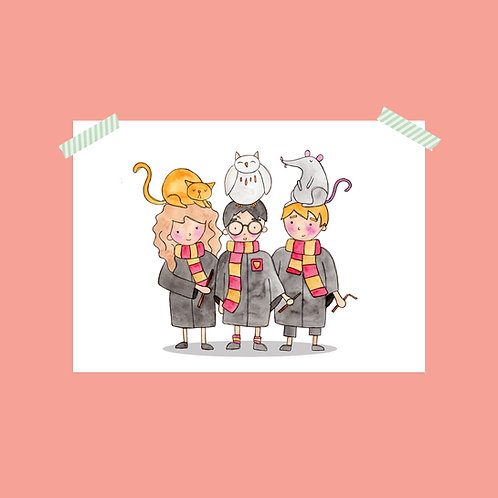 Limited Edition Harry Potter Print