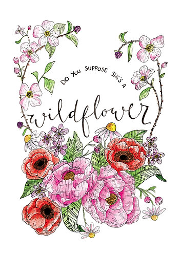 Limited Edition Wildflower Print