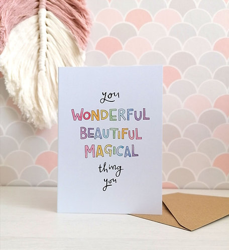 Magical Thing Card