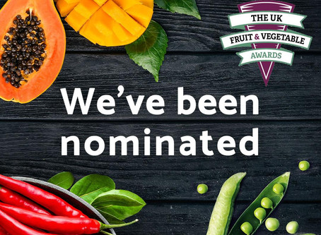 We've been nominated!