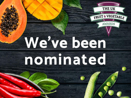 We've been nominated!