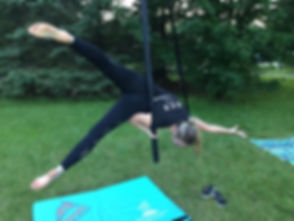 Cirque Sherbrooke tissus trapeze cerceau pole