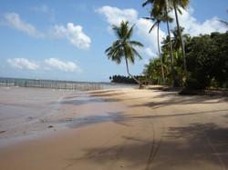 praia no vilarejo BGrande