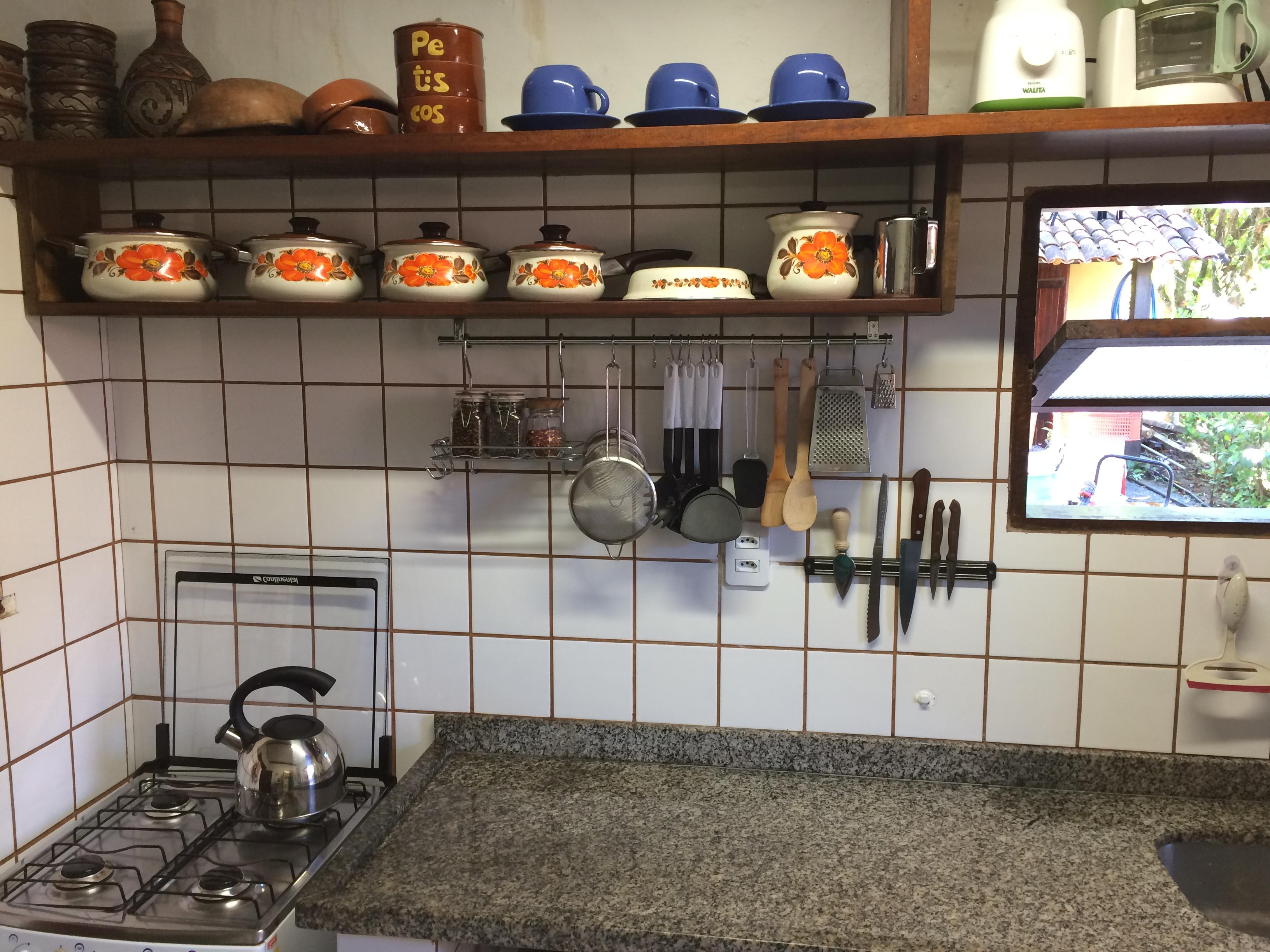Equipamentos da cozinha