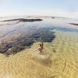 Barretinha - piscina natural formada por