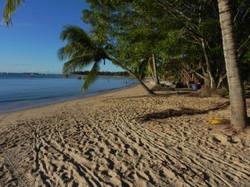 Praia na Vila de Barra Grande