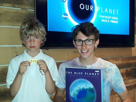 Our Planet Screenings – Raffle Prize winner!
