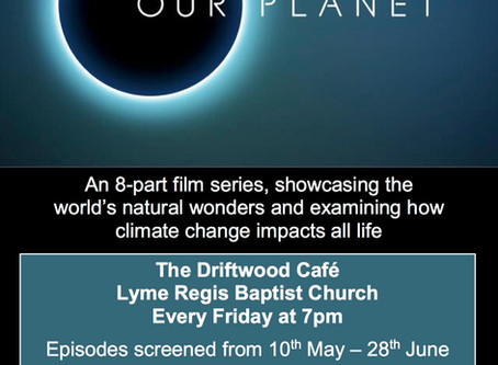 Attenborourgh 'OUR PLANET' series FREE screenings