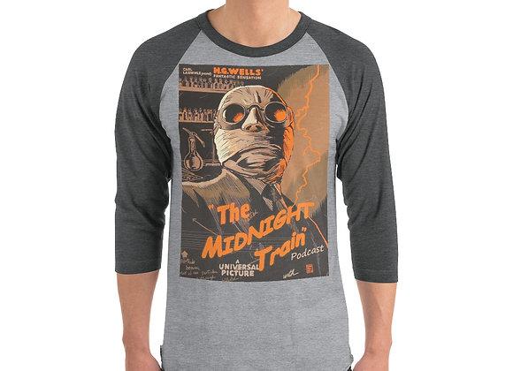 Classic 2 3/4 sleeve raglan shirt