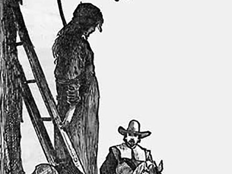 """""""Half-Hanged"""" Mary Webster, Real Witch?"""