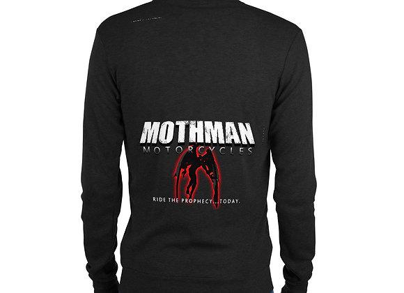 Mothman Motorcycles Unisex zip hoodie