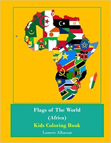 Flags Of The World North America Kids Coloring Book