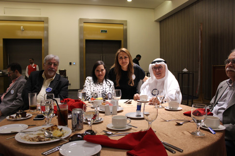 Lamees Alhassar with her friends