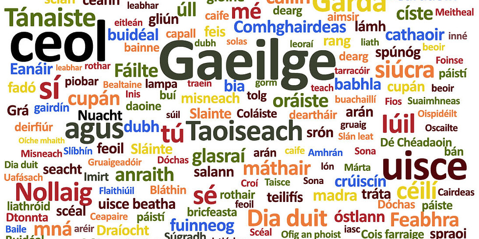 Weekly Intermediate Irish Language Learning Group - Spring Session