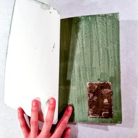 Handmade Photographic Book - Gum Bichromate