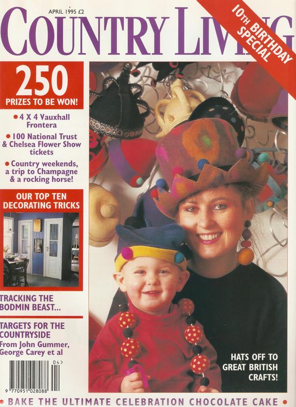 Country Living magazine  1995
