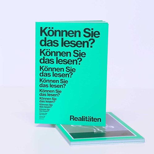 Realitäten Nr. 6 - Test-Ausgabe
