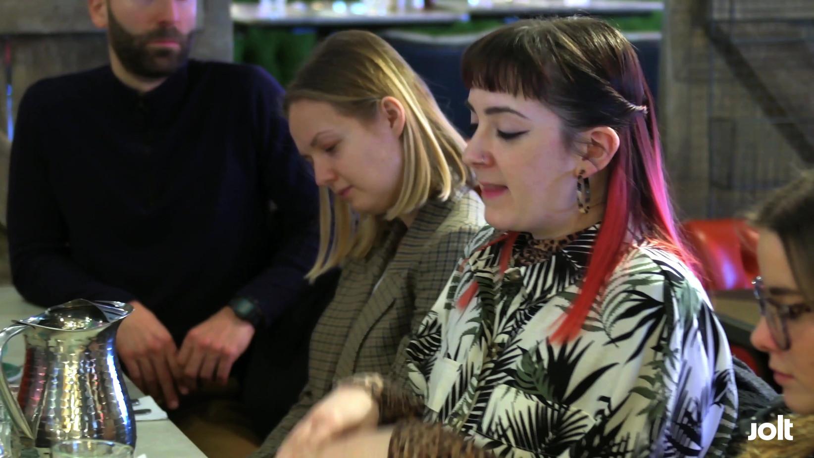 Jolt London's Breakfast Series Launch