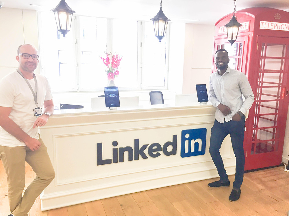 First Picture Of the Day At Linkedin HQ