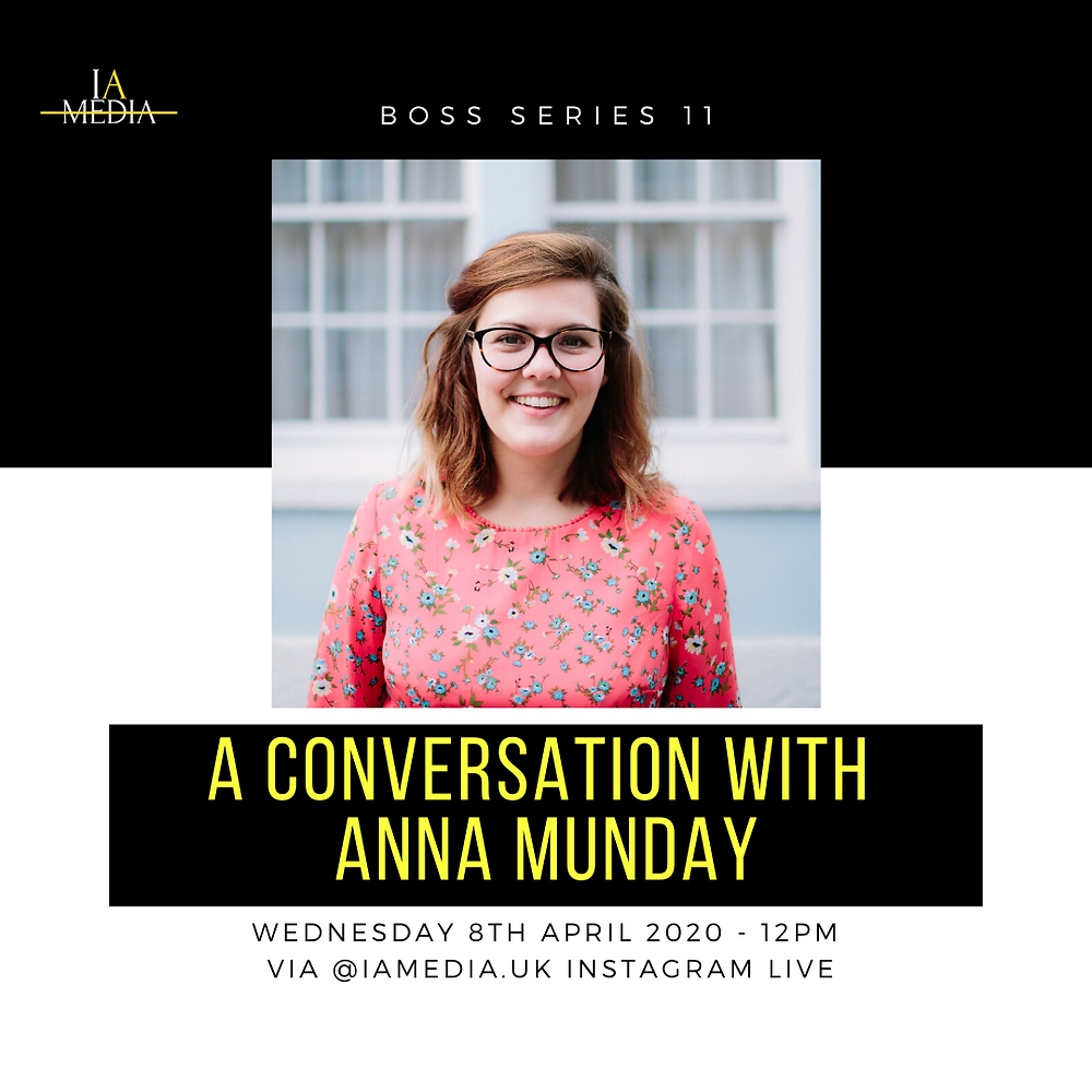 Anna Munday Boss Series Flier