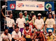 Pat Farmer's View of the 1995 Trans-American Footrace