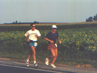Pat Farmer and the Trans-American Footrace 1995