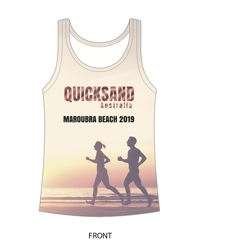 WOMEN'S QUICKSAND Printed Tank