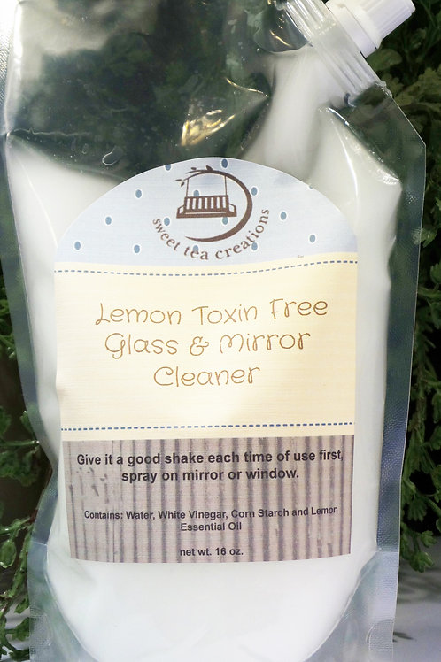Lemon Toxin Free Mirror & Glass Cleaner - Refill