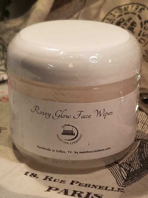 Rosey Glow Face Wipes
