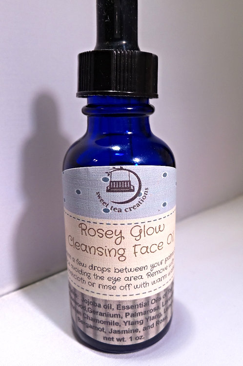 Rosey Glow Cleansing Oil