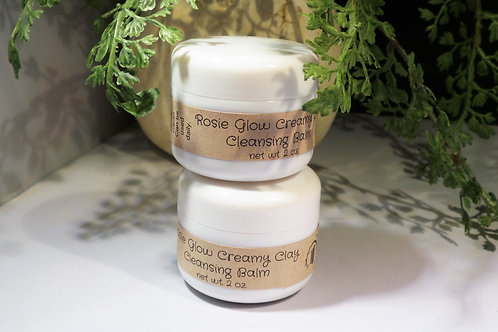Rosie Glow Creamy Clay Cleansing Balm