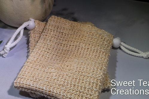 Sisal Soap Pouch