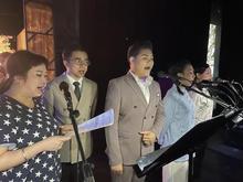 謝謝~香江號合唱團!一班可愛的手足們!辛苦了!