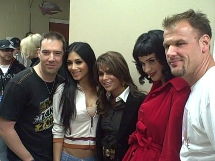 Katy Perry, Nicole Scherzinger, Paula Abdul, John Jay & Rich