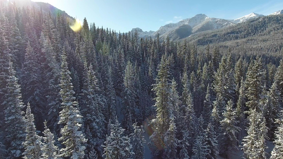 Hylite Canyon Aerial