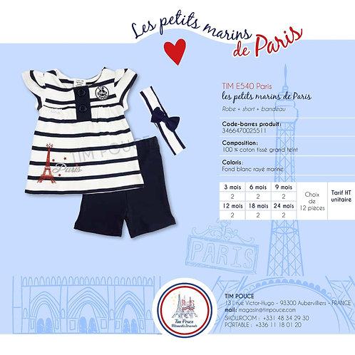 Robe + Short + Bandeau