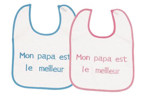 """BAVOIR """"MON PAPA EST LE MEILLEUR"""""""